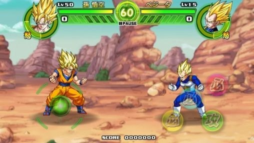 Dragon Ball: Tap Battle Android Game Image 1