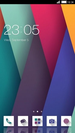 Abstract Pattern CLauncher Android Theme Image 1