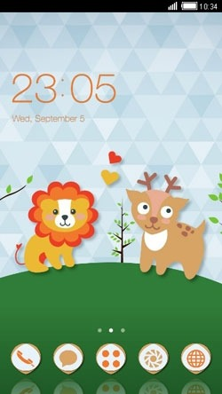 Love Is Everywhere CLauncher Android Theme Image 1