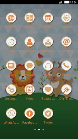 Love Is Everywhere CLauncher Android Theme Image 2