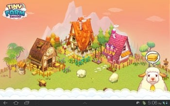 Tiny Farm Android Wallpaper Image 1