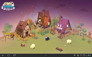 Tiny Farm Android Wallpaper Image 2