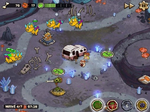 Bad Dinos Android Game Image 1