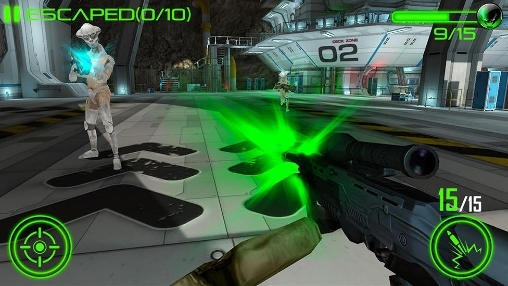 Space Invasion Combat Android Game Image 1
