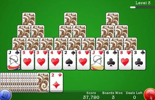 Classic Tri Peaks Solitaire Android Game Image 1