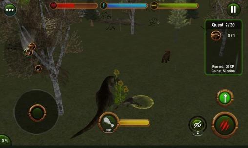Dinosaur Revenge 3D Android Game Image 1
