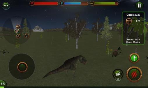 Dinosaur Revenge 3D Android Game Image 2