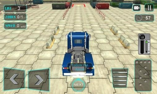 Modern Trucker 3D Android Game Image 1