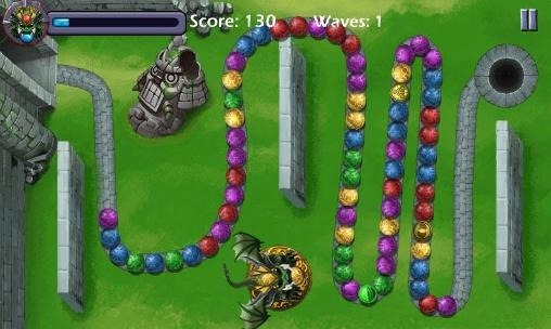 Dragon Marble Crusher Android Game Image 1