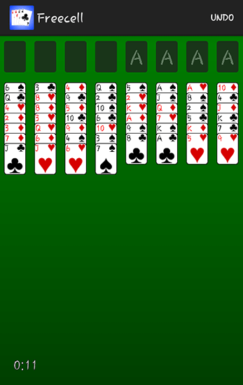 Freecell Solitaire Android Game Image 1