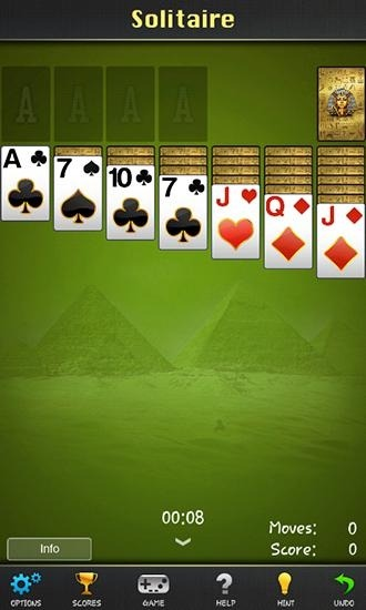 Solitaire: Pharaoh Android Game Image 1