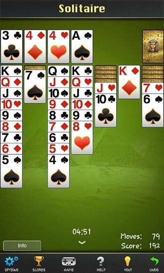 Solitaire: Pharaoh Android Game Image 2
