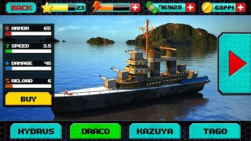 Download Free Android Game World War: Naval Battle 3D - 5243