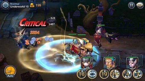 Chrono Saga Android Game Image 1