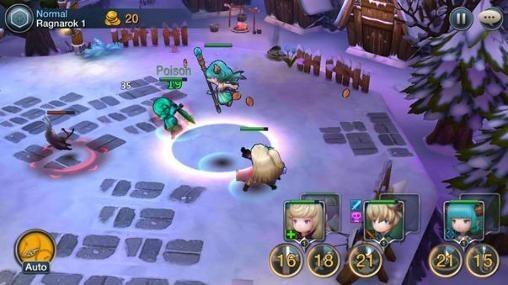 Chrono Saga Android Game Image 2