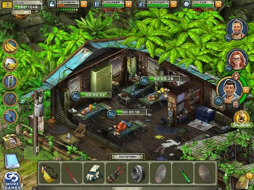 Survivors: The Quest Android Mobile Phone Game Image 2