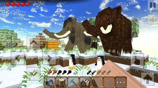 Winter Craft 4: Ice Age Android Game Image 1