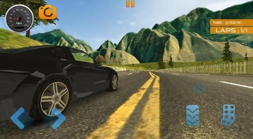 Fast Lane Car Racer Android Game Image 2