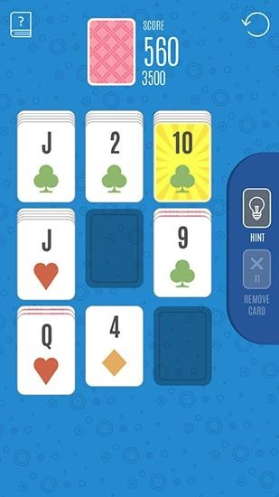 Sage Solitaire Poker Android Game Image 1