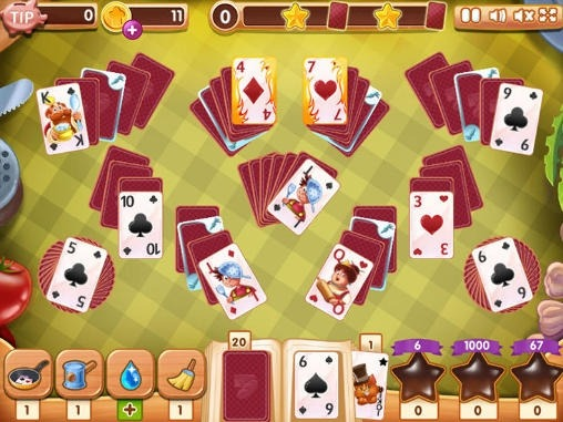 Tasty Solitaire Android Game Image 1