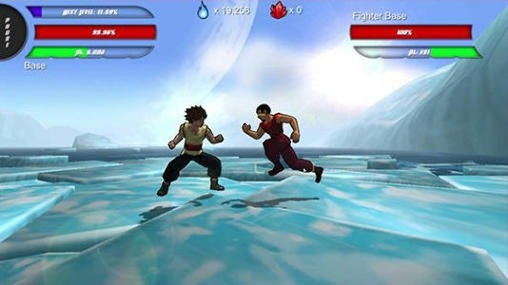 Power Level Warrior Android Game Image 1
