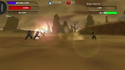 Power Level Warrior Android Game Image 2