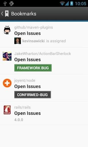 GitHub Android Application Image 2