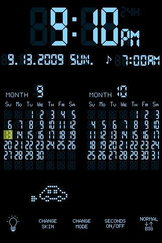 TokiClock: World Clock And Calendar Android Application Image 1