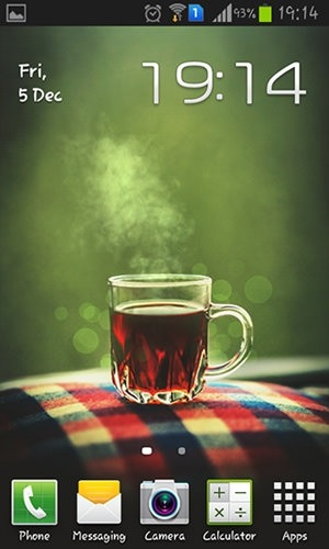 Teatime Android Wallpaper Image 1
