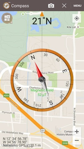 Smart Compass Android Application Image 2
