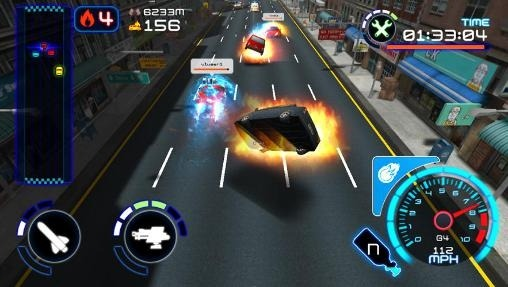 Rush Hour Assault Android Game Image 1