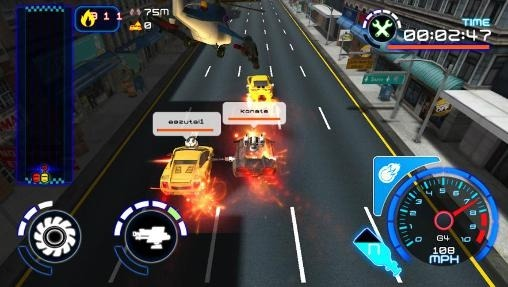 Rush Hour Assault Android Game Image 2