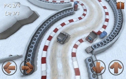 Winter Racing: 4x4 Jeep Android Game Image 1