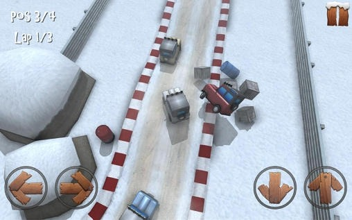 Winter Racing: 4x4 Jeep Android Game Image 2