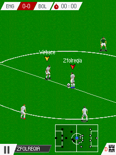 Real Football 2016 Java Game Image 1