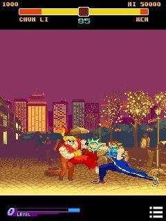 Street Fighter: Alpha Warriors' Dreams Java Game Image 2