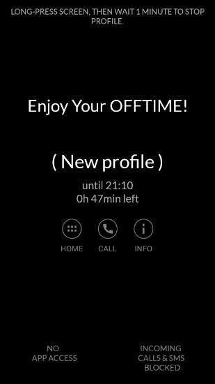 Focus Time Android Application Image 1