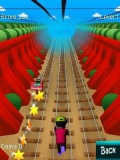 Subway Runner Java Game Image 1
