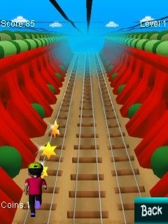Subway Runner Java Game Image 2