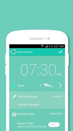 Alarm Run Android Application Image 1