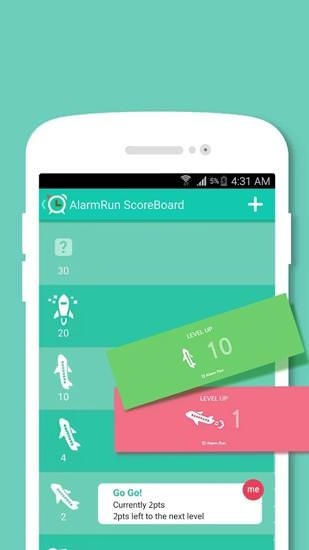 Alarm Run Android Application Image 2