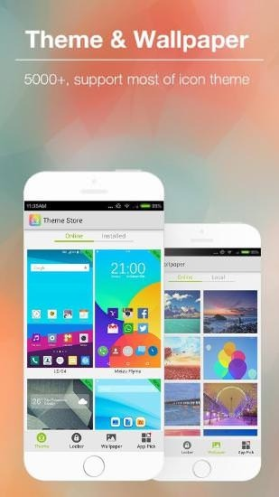 KK Launcher Android Application Image 1