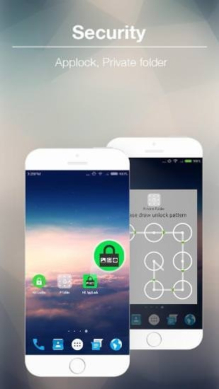 KK Launcher Android Application Image 2