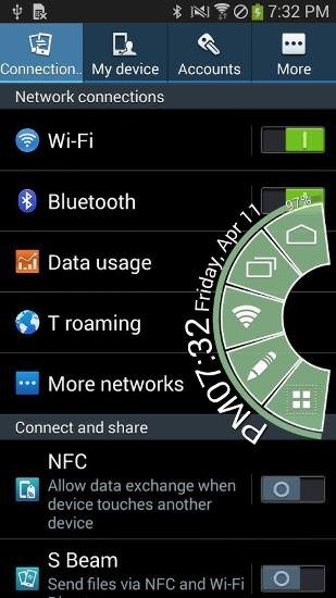 Pie Control Android Application Image 2