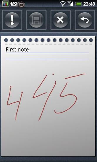 Pocket Note Android Application Image 2