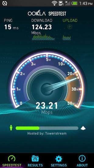 Speedtest Android Application Image 2