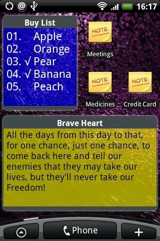 Ultra Notes Android Application Image 2