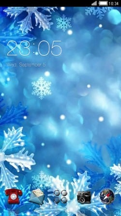 Winter Special CLauncher Android Theme Image 1