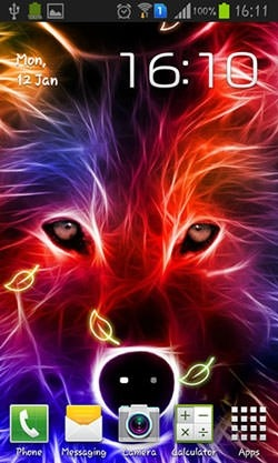 Wolf Android Wallpaper Image 1