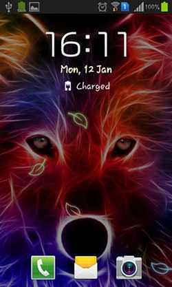Wolf Android Wallpaper Image 2